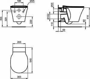 Wc Suspendu Ideal Standard : impressionnant wc suspendu dimensions bati et ideal ~ Dailycaller-alerts.com Idées de Décoration