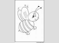 Biene Kostenlose Malvorlagen und Ausmalbilder