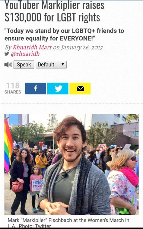 Gay Community Meme - yesss i s a part of the lgbt great to know mark supports equal rights markiplier and