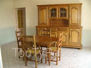 pin salle a manger alexandra buffet lutecia jpg pictures With table salle a manger ovale
