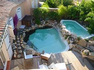 Piscine Avec Cascade : bassin jardin avec cascade 6 am233nagement de jardin ~ Premium-room.com Idées de Décoration