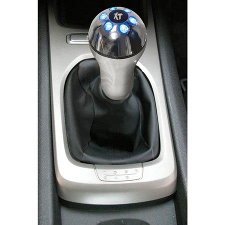 led shift knob custom accessories xt led lighted shifter knob blue