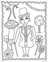 Willy Wonka Coloring Pages Chocolate Factory Charlie Printable Gene Wilder Activities Candy Template Culture Getcolorings Room Pop Movies Let Templates sketch template