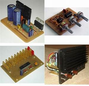 Active Subwoofer Amplifier Circuit Tda7294 Vu Meter Dc To