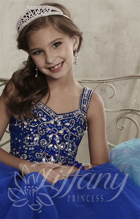 Tiffany Princess 13443 - Elegance is Key Gown Prom Dress