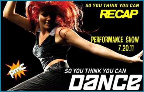 so you think you can recap sytycd 7 20 11 pop my culture