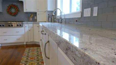 contemporary river white granite kitchen countertop