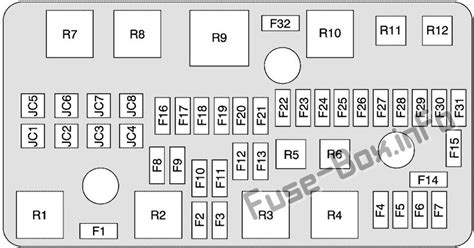 Buick Lucerne Fuse Box by Fuse Box Diagram Gt Buick Lucerne 2006 2011