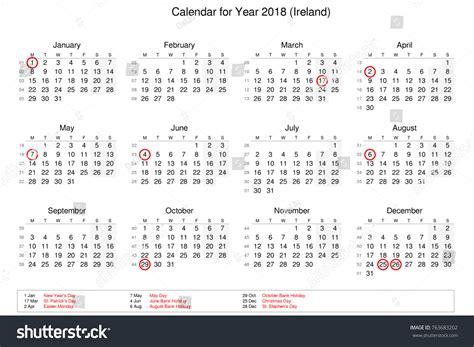 calendar year public holidays bank stock illustration