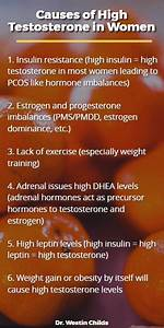 6 Causes Of High Testosterone In Women   How To Lower Your Levels
