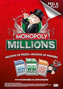 Mcdonald U0026 39 S Launches Monopoly Millions With The Marketing