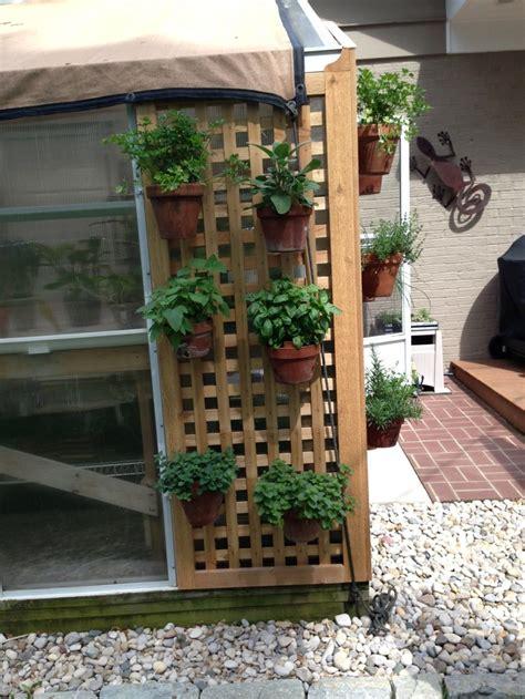 hanging herb garden ideas for work