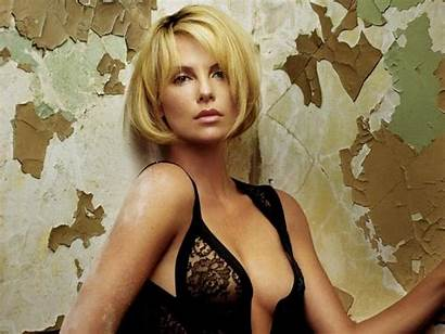 Playboy Famous Appear Theron Charlize