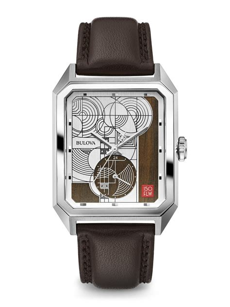 bulova frank lloyd wright clock bulova frank lloyd wright s 96a197 clock doctor 7994
