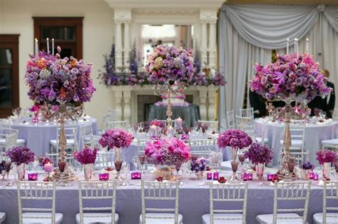 Purple And Pink Wedding Decoration Ideas Elitflat