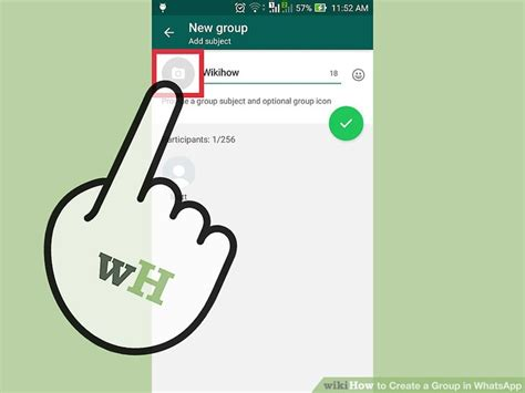 3 Ways To Create A Group In Whatsapp Wikihow