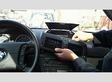 BMW X3 E83 Radio reinstallation YouTube