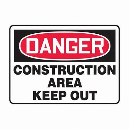 Danger Sign Osha Safety Construction Area Keep