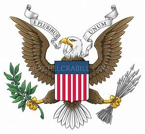 Rachel Crabill » Vector United States Great Eagle Seal