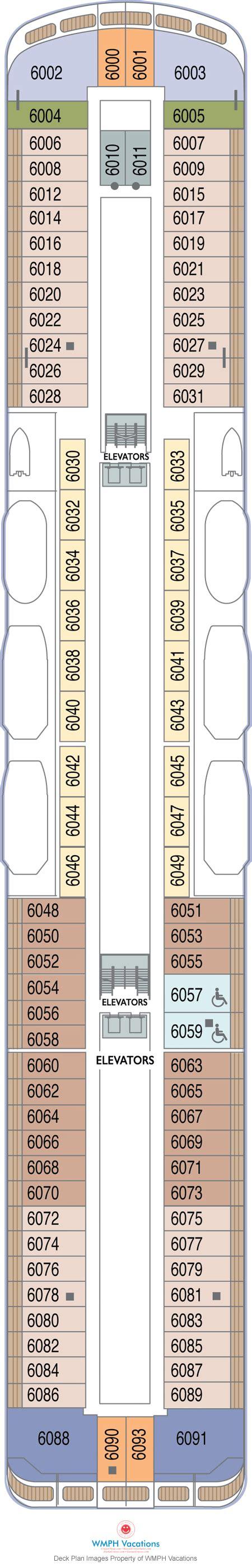 Azamara Journey Deck Plan 2016 by Azamara Journey Deck Plans Deck 6 What S On Deck 6 On