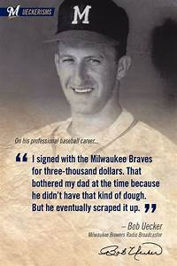 298 best images... Milwaukee Brewer Quotes