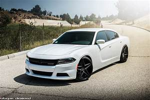White Dodge Charger - Best Electronic 2017