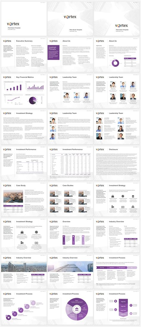 hedge fund pitch book template pitch book template exle for investment banking pitch book new