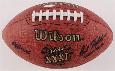 Brett Favre And Reggie White Signed Nfl Super Bowl Xxxi