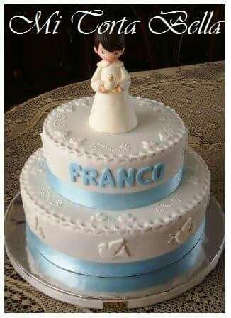 torta de bautismo ni 241 o con palomitas tortas