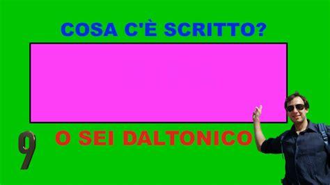 test di daltonismo sei daltonico o vedi tutti i colori dell arcobaleno test