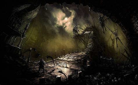Creepy Desktop Wallpaper by Cool Scary Backgrounds Wallpaper Cave