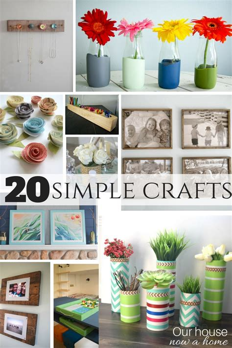simple crafts  house   home