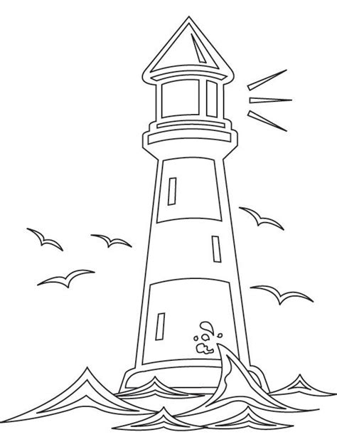 lighthouse coloring pages lighthouse worksheets printable light house coloring