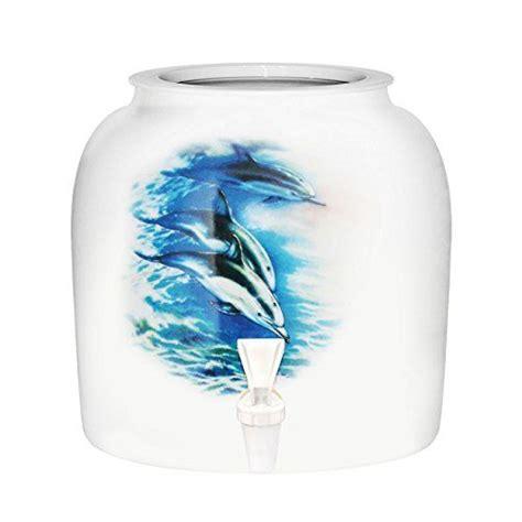 kitchen faucet blue dolphins porcelain ceramic