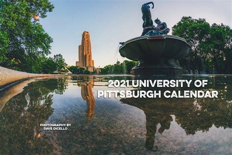2021 University of Pittsburgh Calendar