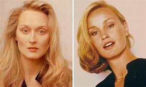 Young Meryl Streep and Jessica Lange   Les célébrités ...