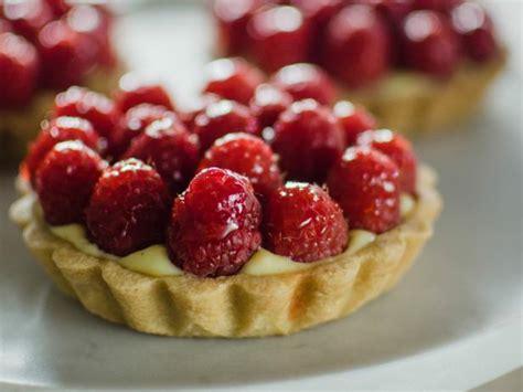 mini raspberry tarts recipe julia baker cooking channel