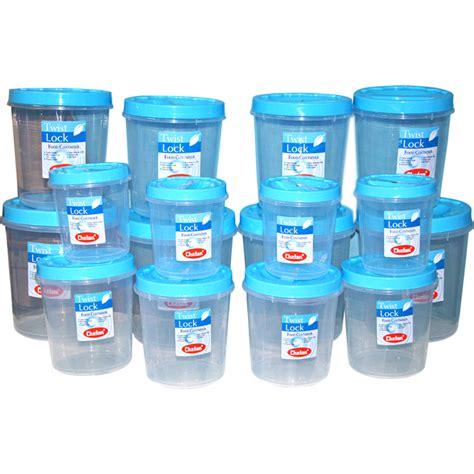 Kitchen Containers Naaptol by Buy Chetan 16pcs Twist Lock Kitchen Storage Container Set