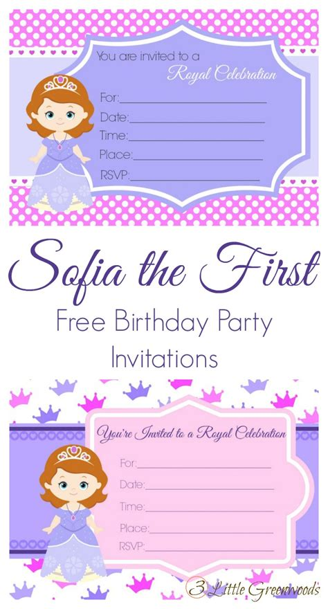 sofia the free invitation templates invitation template sofia the invitations invitation text free