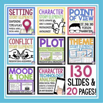 Story Elements Bundle By Presto Plans  Teachers Pay Teachers