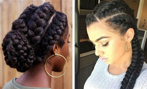 51 Goddess Braids Hairstyles For Black Women