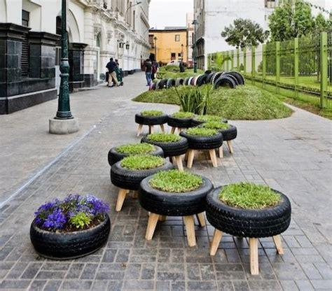 tire planters for reuse tires bob vila