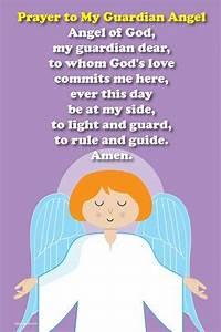 Happy Saints Prayer Posters: Happy Saints Guardian Angel ...