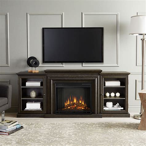 frederick electric fireplace entertainment center