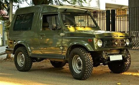 indian army jeep modified why does the indian army only use maruti gypsy