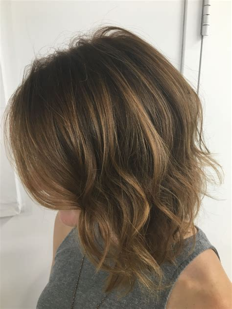 Rich Brown Hair With Caramel Highlights by Rich Brown With Autumn Balayage Caramel Highlights