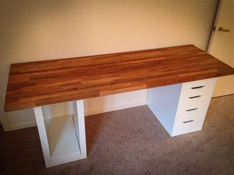 mount  countertop   office desk ikea