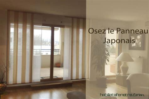 idee voilage pour grande fenetre rideau voilage stores d interieur panneaux japonais sur mesure et accessoires d 233 co