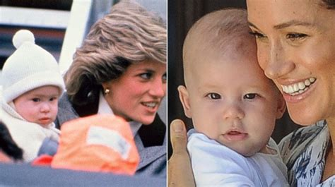 Baby Archie looks just like dad Prince Harry