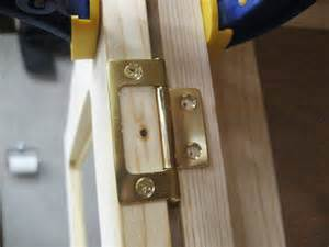 installing non mortise hinges on inset cabinet doors with frame
